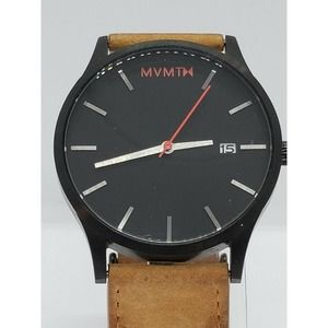 MVMT Classic Leather Men's 45mm Watch